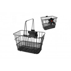 Quick-detachable front basket