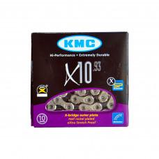 Цепь KMС X10-1 10 speed на велосипед