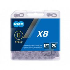 Цепь KMС X8 EPT 8зв на велосипед