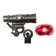 Комплект фонарей передний и задний JY 246