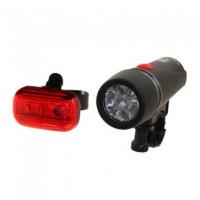 Комплект фонарей передний и задний JY 808