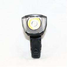 Фонарь передний USB  JY 3588