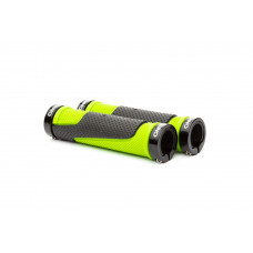 ONRIDE DualGrip handlebars. Black / Green