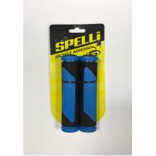 Грипсы Spelli SBG-692 черно-синие