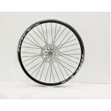 """Front wheel 26"""" disc brake industrial bearing mod 170 (with rotor)"""