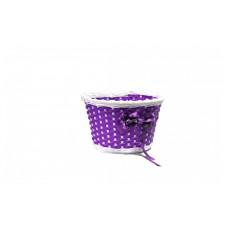 Корзина детская плетёная (СR-03/01) фиолетовая