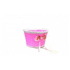 Корзина детская плетёная (СR-03/01) розовая