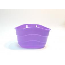 Корзина фиолетовая пластиковая