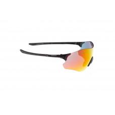 Очки ONRIDE Possession 20 матовые черные с линзами Full Revo Red (17%)