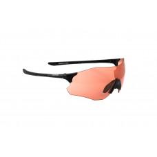Очки ONRIDE Possession 20 матовые черные с линзами оранжевый (51%)