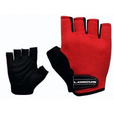 Велосипедные перчатки SOFTY красные