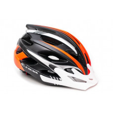 Шлем велосипедный Cigna WT-016 черно-оранжевый
