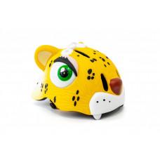 """Шлем детский велосипедный CIGNA """"Желтый леопард"""""""