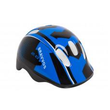 Шлем велосипедный детский Bravvos черно-синий