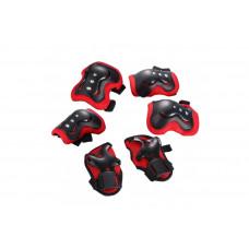 Защита для детей FSK M07 черно-красная