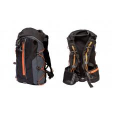 Рюкзак Bravvos QIJIAN BAGS B-300 44х26х9cm черно-серо-оранжевый