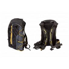 Рюкзак Bravvos QIJIAN BAGS B-300 44х26х9cm черно-серо-желтый