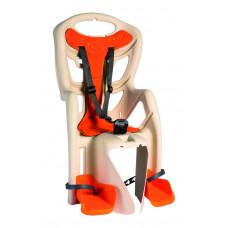 Кресло детское Bellelli Pepe Clamp на багажник бежевое
